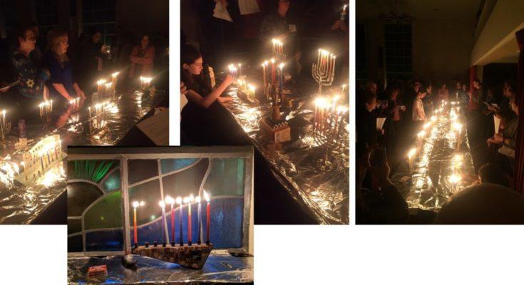 Chanukah Menorah Lighting 2018